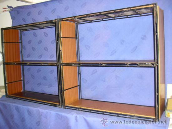 Estanterias modulares en hierro y formica a os comprar - Muebles estanterias modulares ...