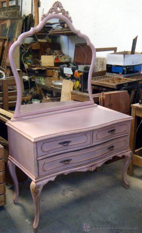 Mueble coqueta tocador a os 50 comprar muebles vintage en todocoleccion 37530669 - Mueble anos 50 ...