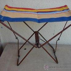 Vintage: SILLA PLEGABLE DE NIÑO. AÑOS 60. Lote 37540767