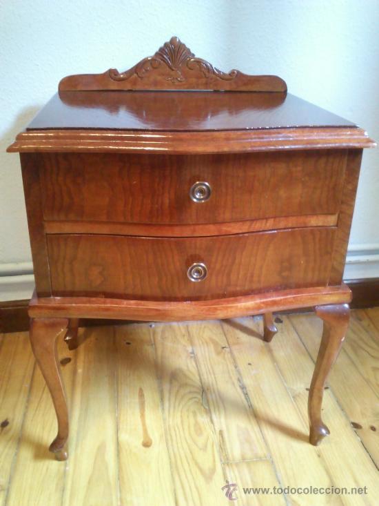 antigua mesilla de noche años 50 - Comprar Muebles vintage en ...
