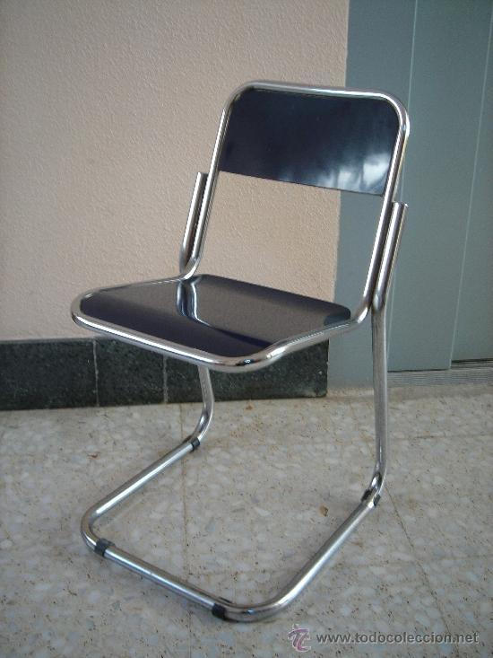juego de 5 sillas cocina años 70 vintage - Comprar Muebles vintage ...