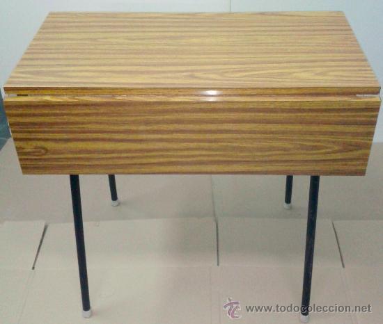 magnifica mesa de cocina de formica de los años - Comprar Muebles ...