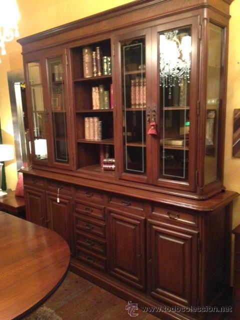 vitrina-aparador nogal de la firma almazan - Comprar Muebles vintage ...