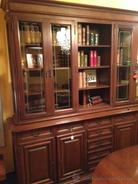 Vitrina aparador nogal de la firma almazan comprar - Muebles en almazan ...
