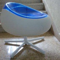 Vintage: ASIENTO EN PLASTICO BICOLOR DESIGN CARL OJERSTAM. Lote 39480021