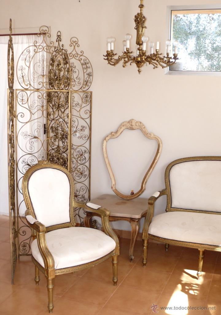 Marco madera espejo antiguo a restaurar vintag comprar - Restaurar muebles vintage ...