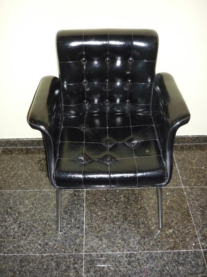 Silla sillon despacho industrial vintage color comprar for Ofertas sillas despacho
