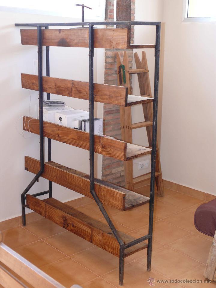 Maravillosa estanteria separador ambientes anti vendido for Muebles de diseno industrial