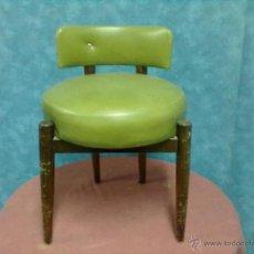 Vintage: SILLA DESCALZADORA DE GUSTO NORDICO PARA RESTAURAR.. Lote 41084028