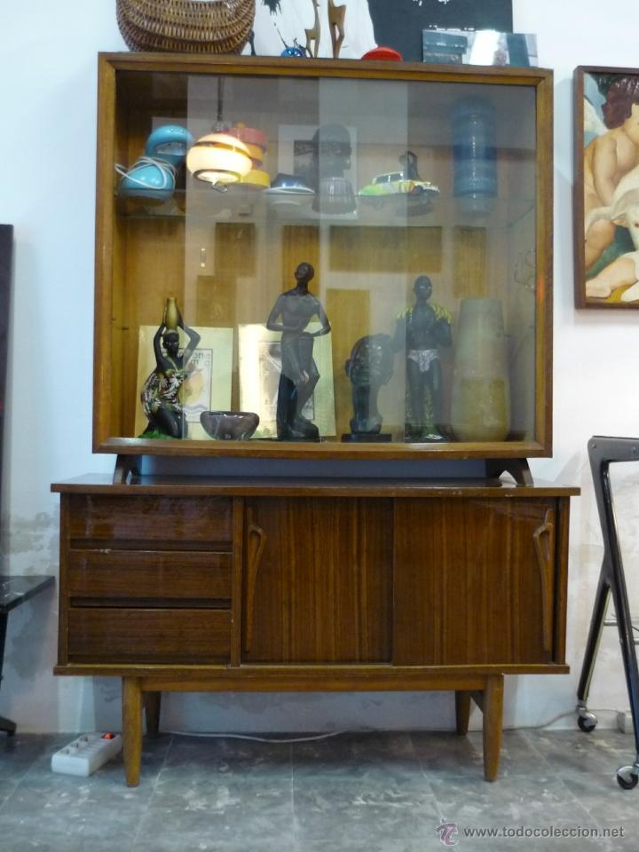 bonita vitrina vintage años 60 - Comprar Muebles vintage en ...