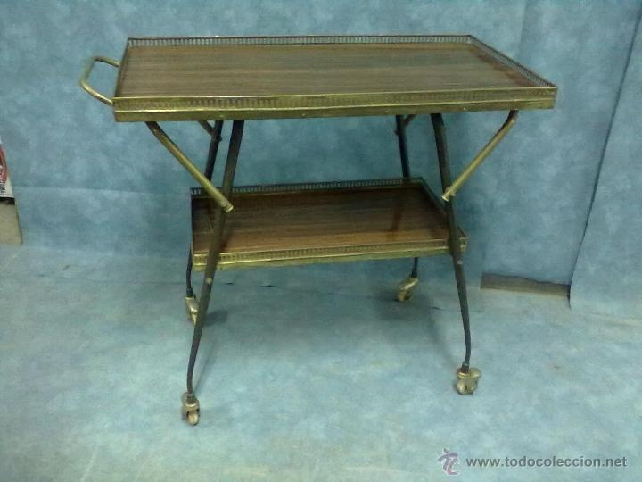 Camarera carro bebidas comidas t v para restau comprar - Restaurar muebles vintage ...