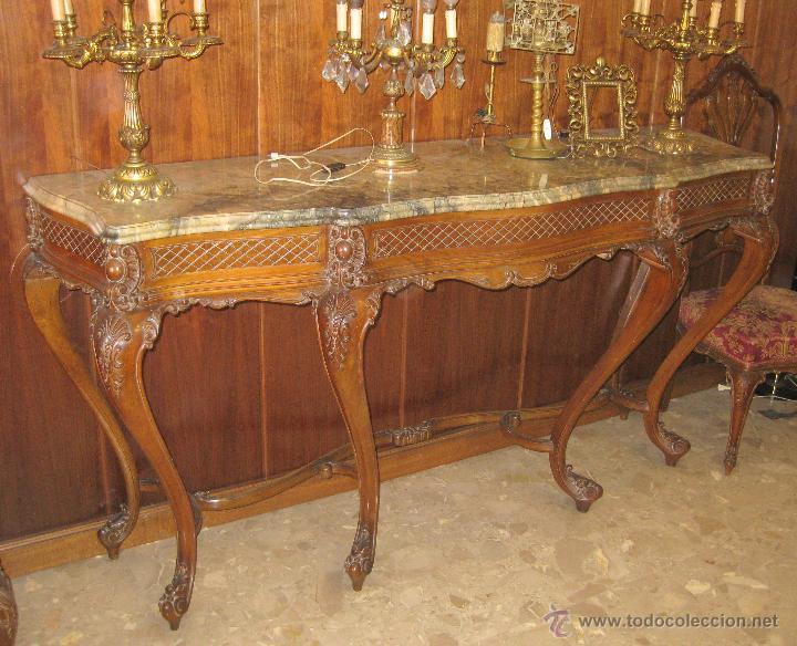 Consola mueble valenciano estilo luis xv anteri comprar - Muebles daneses anos 50 ...