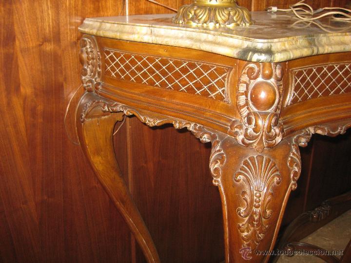 Consola mueble valenciano estilo luis xv anteri comprar muebles vintage en todocoleccion - Muebles vintage valencia ...