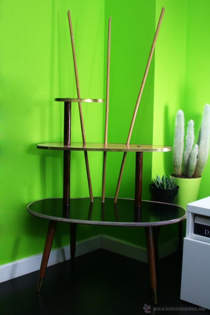 Expositor tienda o mesa formica dise o nordico comprar - Muebles anos 50 madrid ...