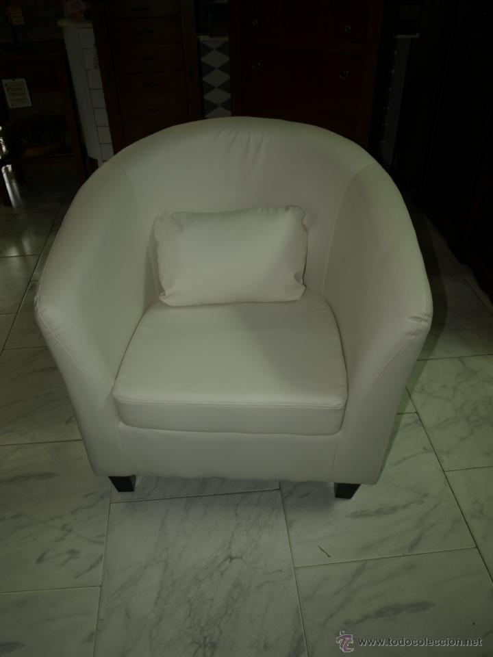 Vintage: butaca en blanco sillon - Foto 2 - 42905326