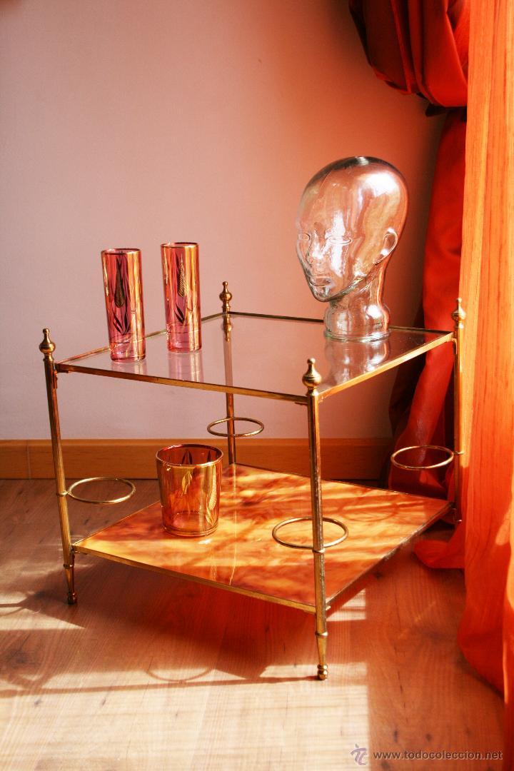 Mesa bar estilo art deco transporte gratis com comprar for Recogida muebles gratis madrid