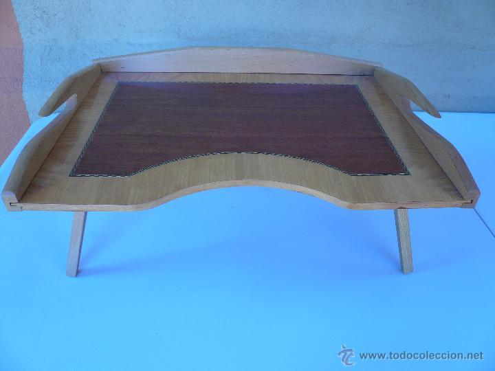 mesa para cama de madera con patas plegables 50 - Comprar Muebles ...