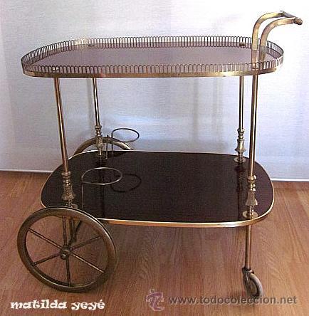 Camarera mesa carrito o carro para bebidas a os vendido - Carrito camarera ...
