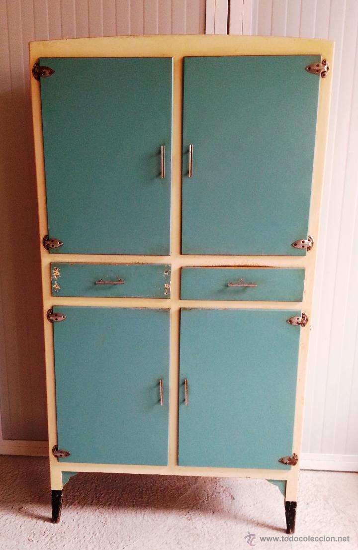Aparador alacena mueble de cocina mediano vin comprar - Muebles online vintage ...