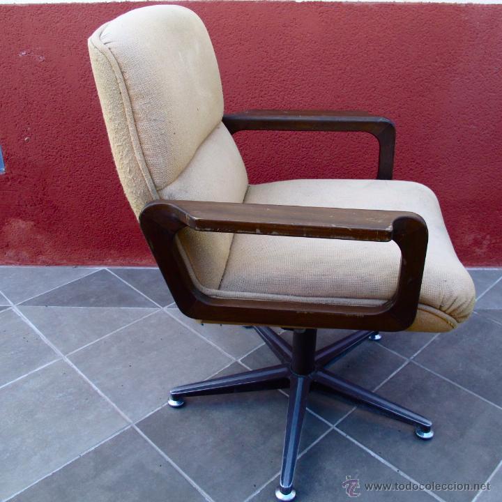 Sill n oficina despacho vintage giratorio a os comprar for Muebles de oficina vintage