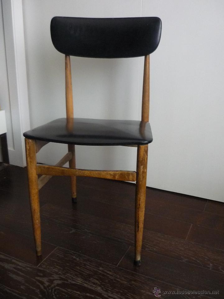 Bonita silla vintage a os 60 comprar muebles vintage en - Sillas anos 60 ...