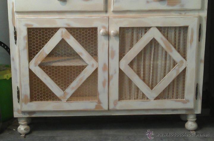 Vintage: Vitrina lacada y rozada - Foto 4 - 43825043