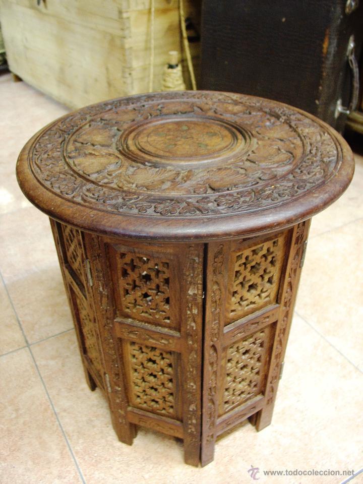 muebles practica simple mesa auxiliar plegable muy ligera