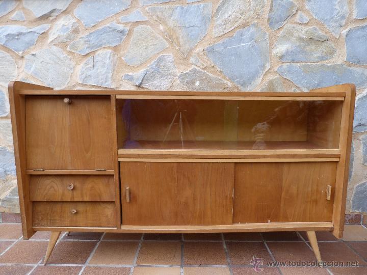Aparador estilo n rdico a os 50 comprar muebles vintage for Aparador anos 50