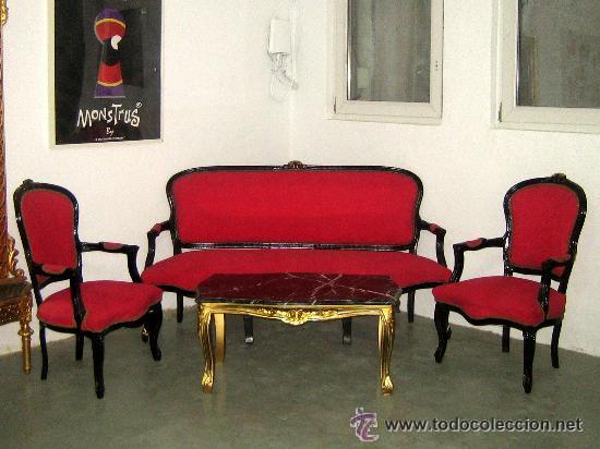 banco, sofá 3 plazas estilo francés tapizado en - Comprar Muebles ...