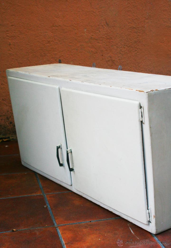 Alacena fresquera antiguo mueble cocina pared c comprar for Mueble pared cocina