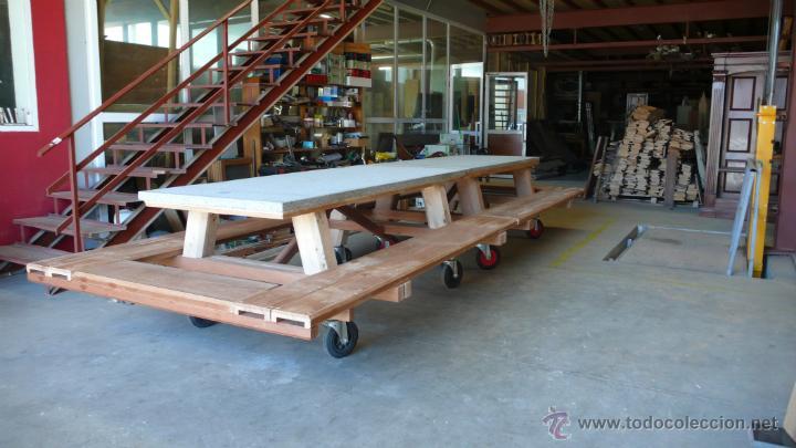 mesas de madera y granito para exterior o inte Comprar Muebles