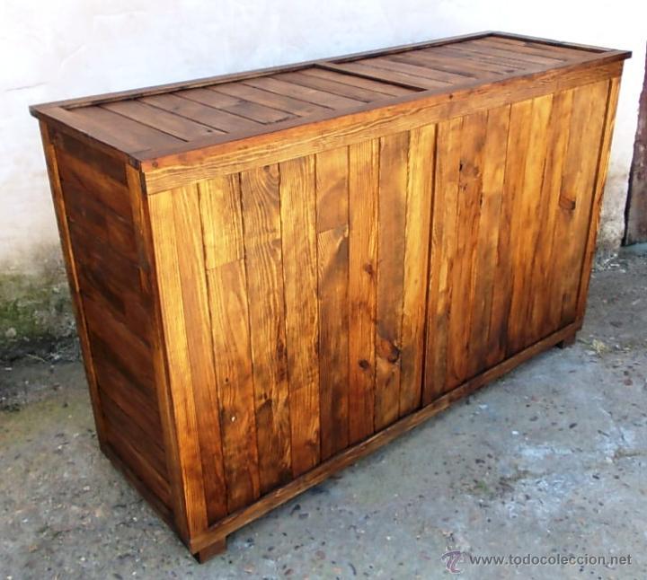 Mostrador De Madera Tienda Mueble 160 Cm De A Comprar