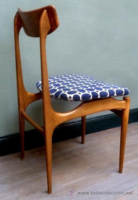 silla vintage aos diseo escandinavo design hans wegner midcentury y tapicera pop