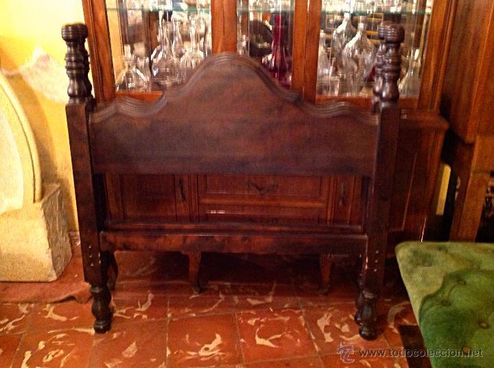 Vintage: Dos Bonitos Cabeceros De Madera - Foto 3 - 52620676
