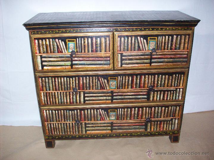 COMODA PINTADA (Vintage - Muebles)