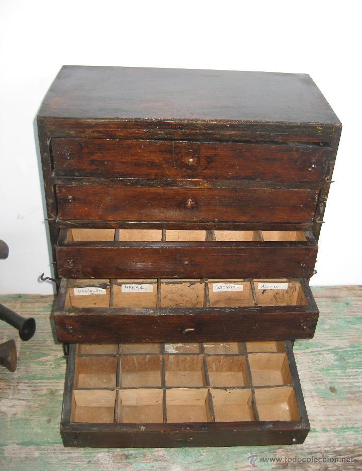Mejorado mueble cajonera antiguo tienda ideal comprar for Muebles online vintage