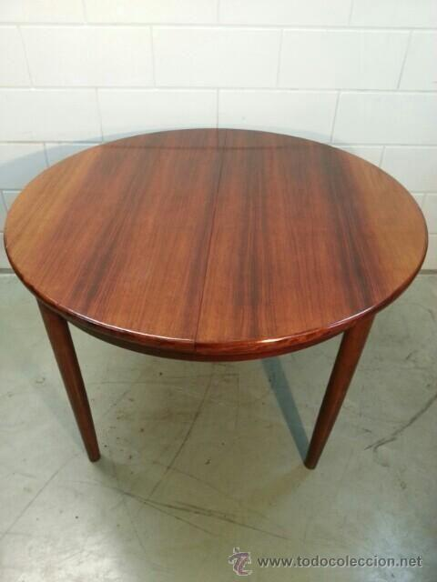 mesa de comedor redonda. madera de palosanto. - Comprar Muebles ...
