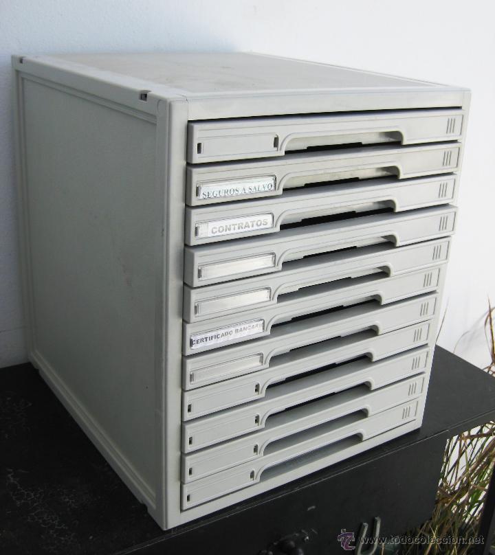 Mueble archivador cajonera industrial de oficin comprar - Cajoneras de oficina ...