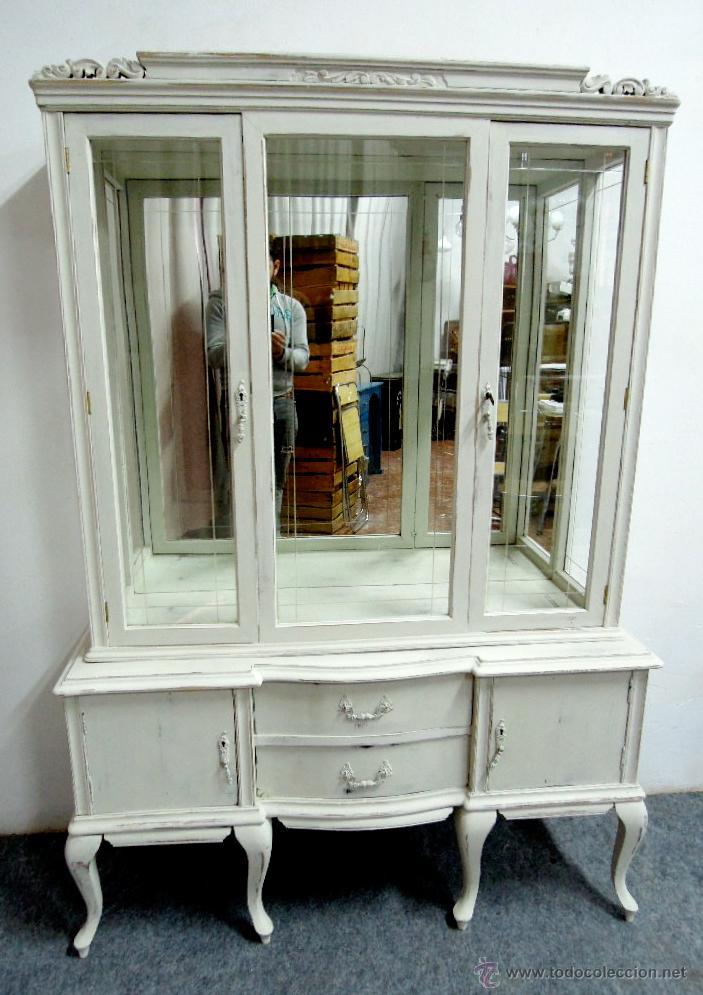 Muebles estilo isabelino muebles estilo isabelino el - Muebles blancos vintage ...