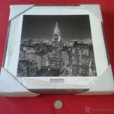 Vintage: BONITO CUADRO REPRODUCCION FOTOGRAFIA FOTO NUEVA YORK NEW YORK HENRI SILBERMAN´S PARA DECORACION. Lote 47988891