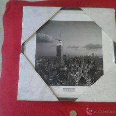 Vintage: BONITO CUADRO REPRODUCCION FOTOGRAFIA FOTO NUEVA YORK NEW YORK HENRI SILBERMAN´S PARA DECORACION . Lote 47988992