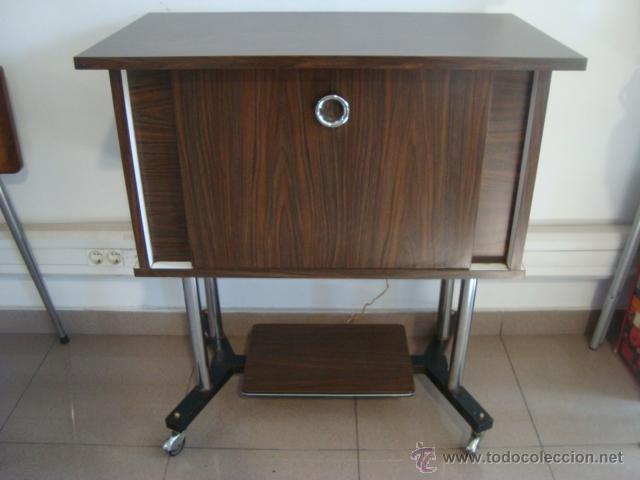 Mueble bar formica a os 60 comprar muebles vintage en todocoleccion 48288505 - Muebles anos 60 ...