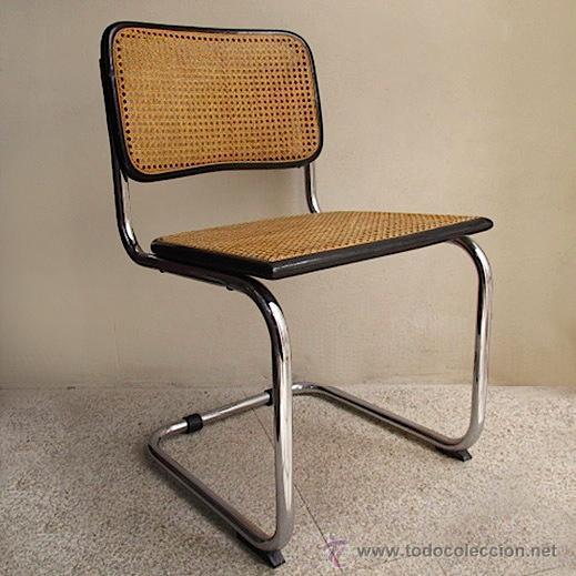 Silla cesca breuer vintage rejilla enea bauhaus comprar - Reparacion de sillas de rejilla ...