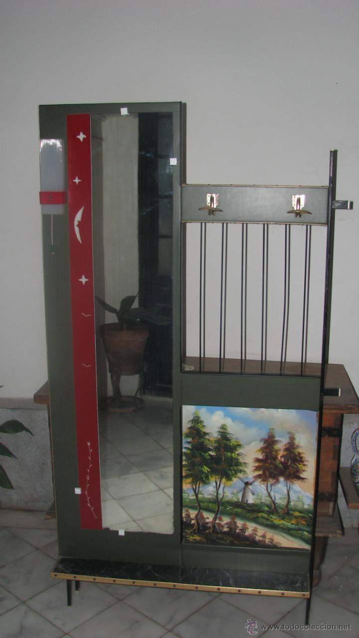 Mueble recibidor a os 60 comprar muebles vintage en todocoleccion 48459326 - Muebles recibidor vintage ...