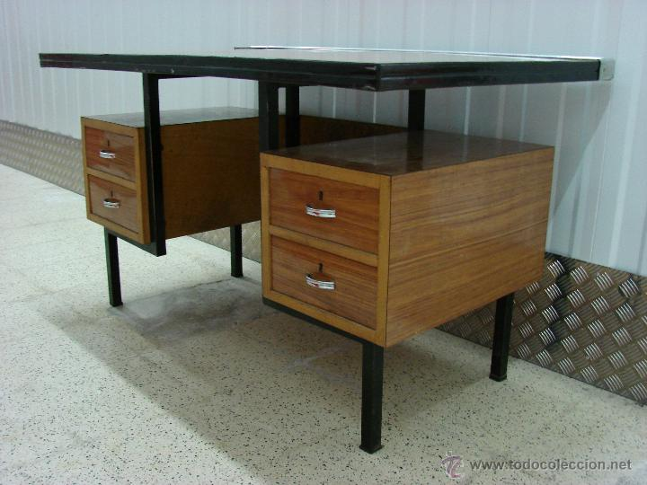 antigua mesa de despacho. años 50-60. vintage o - Comprar Muebles ...