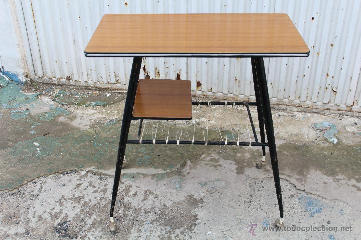 Mesa De Television Anos 70 Comprar Muebles Vintage En
