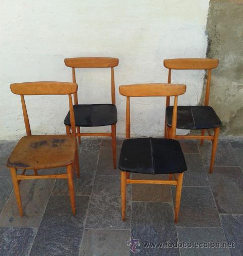 sillas tipo nordicas lote 4 sillas escandinav comprar