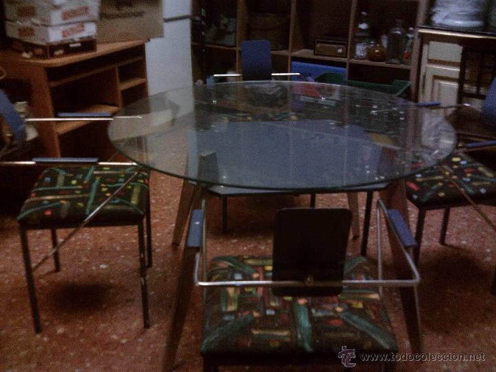 ~~~~EXCLUSIVO - VINTAGE NORDICO - MESA /SILLAS AÑOS 50. ---RESERVADO--- (Vintage - Muebles)