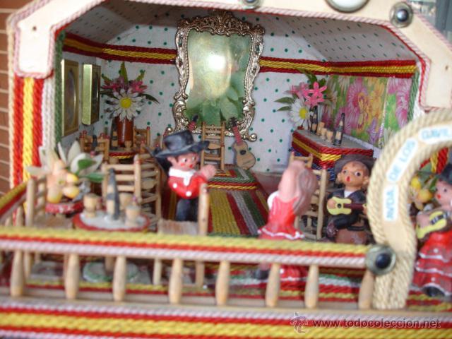 Caseta feria sevilla con mobiliario y mu ecos comprar - Muebles vintage sevilla ...