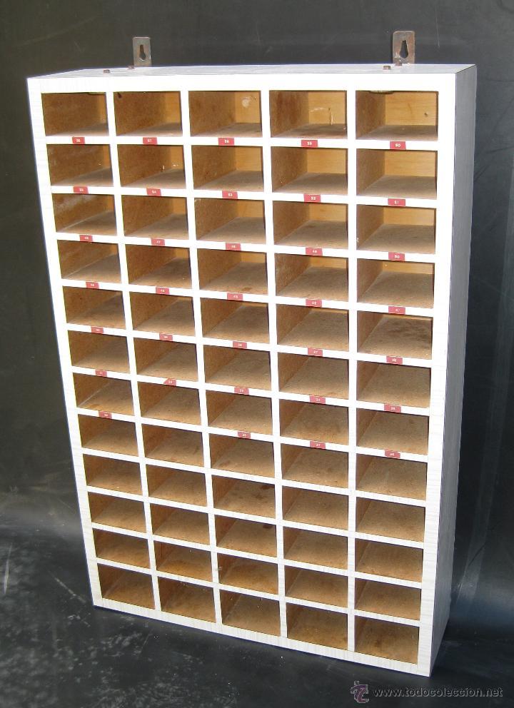Unico gran mueble organizador casillero llave comprar for Mueble organizador